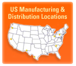 USA manufacturing locations